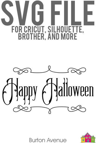 Happy Halloween Svg File Burton Avenue Svg Free Svg Svg Free Files
