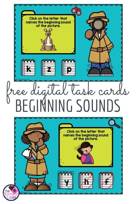 Do you need a digital activity to practice beginning sounds with your kindergarten or first grade students? If so, then this free activity is the one for you! Students will use phonemic awareness to match a letter with the sound they hear at the beginning of each picture. This fun phonics game-like activity is self correcting and teachers can track their students progress at BOOM Learning. {1st grade, phonics, alphabet} #kindergartenphonics #phonics #1stgradephonics Behavior Plans, Behavior Charts, Phonics Games, Alphabet Phonics, Home Learning, Learning Spanish, Whole Brain Teaching, Beginning Sounds, Free Activities
