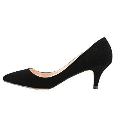 Trendy And Elegant Kitten High Heel Shoes Thefashiontamer Com 2020 Kitten Heels Amazonlar