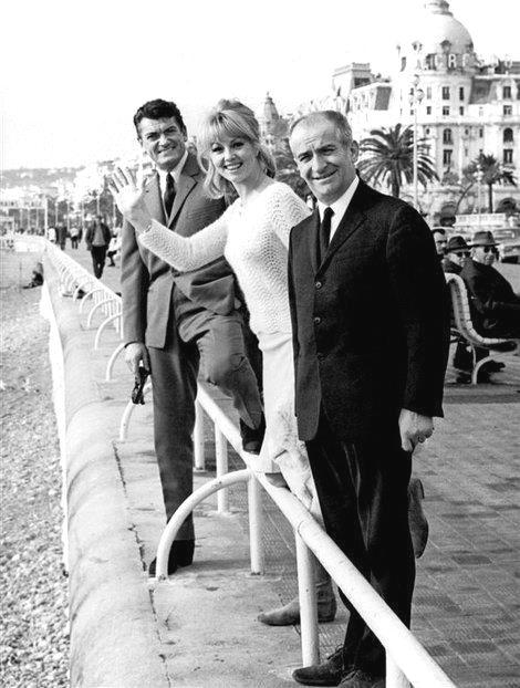 1965 Jean Marais Michelle Demongeot Louis De Funes Classic Movie Stars Louis De Funes Actor Studio