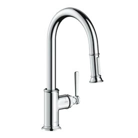Hansgrohe Montreux Chrome 1 Handle Pull Down Kitchen Faucet