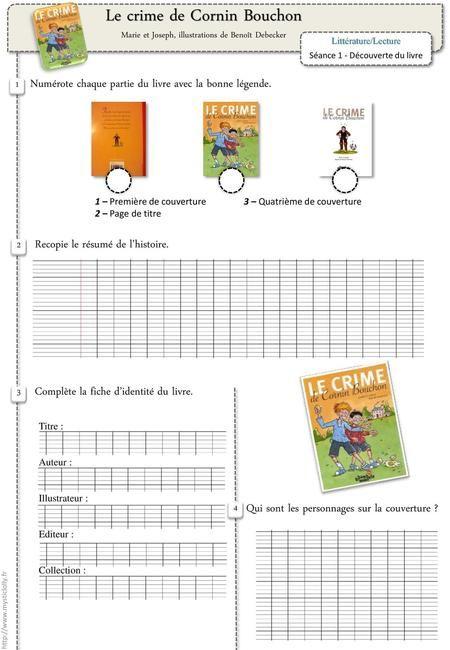 Le Crime De Cornin Bouchon : crime, cornin, bouchon, Crime, Cornin, Bouchon>, Première, Couverture,, Titre,