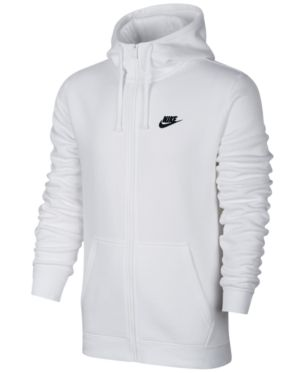 nike fleece zip up hoodie mens