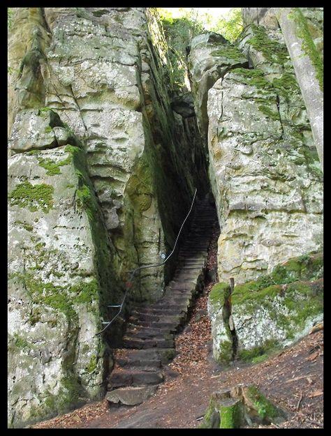 Teufelsschlucht, Eifel, Germany