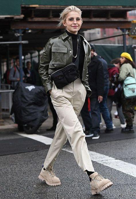 Credit: Caroline Daur wearing a cropped leather jacket. Credit: Caroline Daur wearing a cropped leather jacket. Credit: Caroline Daur wearing a cropped leather jacket.