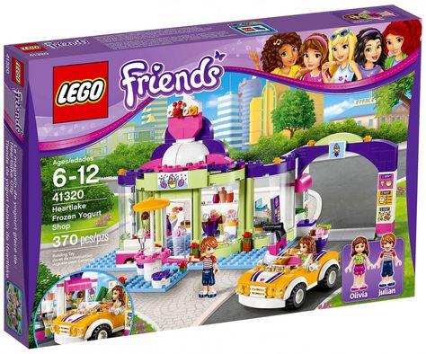 Lego Friends 41320 Le Magasin De Yaourt Glacé Legos Lego Friends