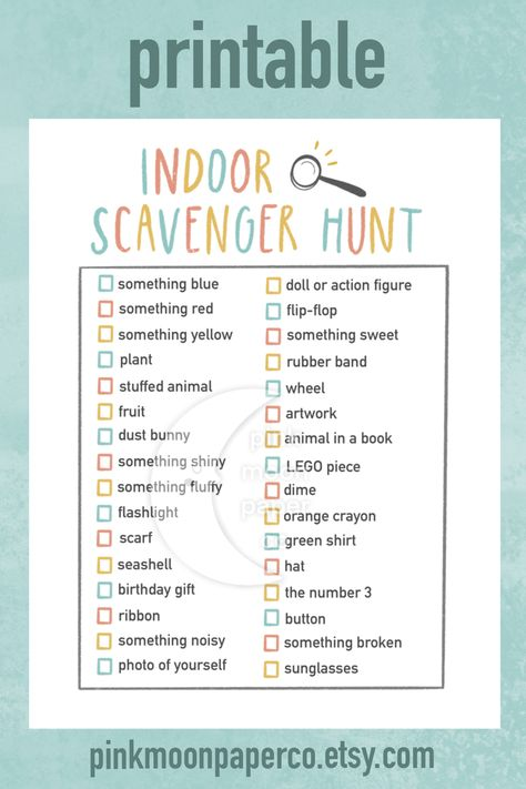 A fun and easy activity for kids! Perfect for rainy days, social distancing/quarantine, homeschool, indoor party, and summer boredom. Nanny Activities, Rainy Day Activities For Kids, Babysitting Activities, Home Activities, Summer Activities, Toddler Activities, Learning Activities, Games For Kids, Indoor Kids Games