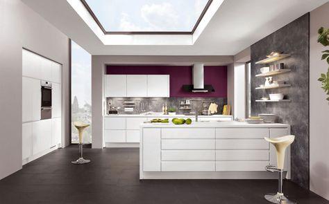 Une #cuisine hyper #design et épurée pour un style #moderne et ...