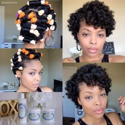Hairstyles Black Hair Perm Rods 19 Super Ideas Black Hair Perm Permed Hairstyles Hair Rods