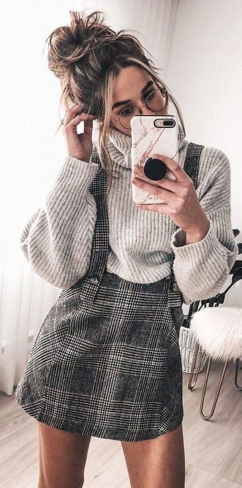 Outfits con cuadros que no te harán ver anticuada ni boba