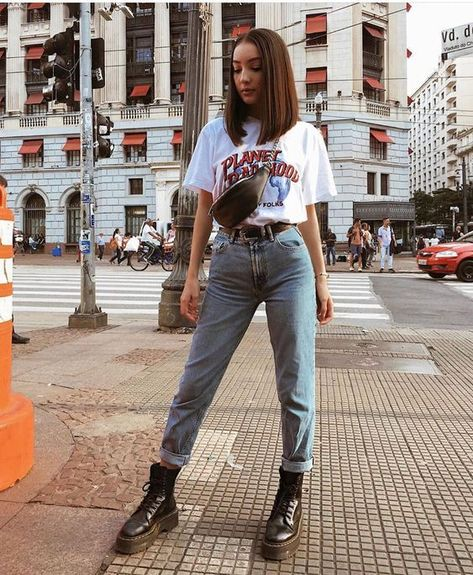 oufits made in the mentira, sou de 2000 // wearing lojalacodeluxo, zara, cea_brasil Mode Outfits, Fall Outfits, Fashion Outfits, Summer Jean Outfits, Blue Jean Outfits, Jeans Fashion, Cute Casual Outfits, Retro Outfits, Hipster Outfits For Women