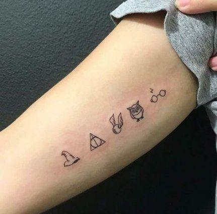 Tattoo Small Simple Harry Potter 22 Ideas Harry Potter Tattoo Small Harry Potter Tattoos Tattoos