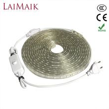 Click Image To Buy Laimaik Ac220v Led Strip Light Waterproof With On Off Switch Flexible Smd5050 Outdoor Led Tape Led Strip Lighting Led Tape Strip Lighting