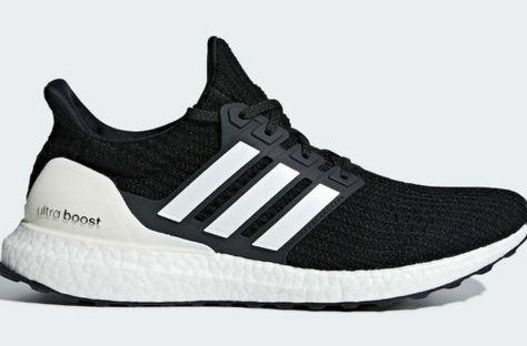 adidas UltraBOOST ST Running Shoes UK 12 Core Black