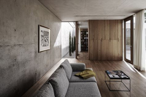 Marte.Marte Architects have designed a breathtaking contemporary oasis overlooking the Rhine Valley in western Austria and you can take a look inside here.