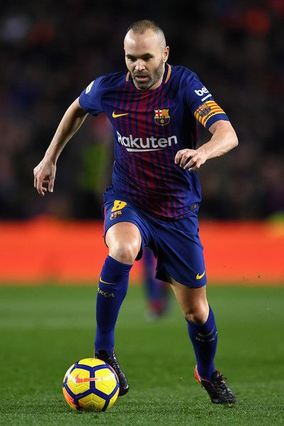 Andres Iniesta Photos Photos Barcelona V Deportivo Alaves La Liga Iniesta Barcelona Futbol Club Uefa European Championship