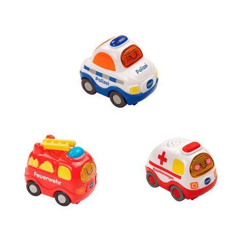 Vtech Tut Tut Baby Flitzer Set 10 Feuerwehr Polizei Krankenwagen Online Kaufen Tut Tut Baby Flitzer Krankenwagen Und Geschenkideen Kinder