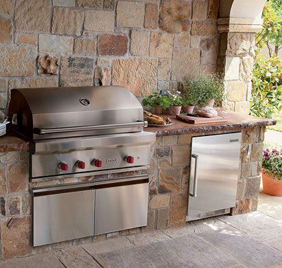 Subzero Wolf Outdoor Grills Pacific Sales Outdoor Kitchen Grill Bbq Island Outdoor Kitchen