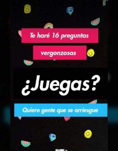 Te Hare 16 Preguntas Vergonzosas La Ultima Encuesta Viral En Instagram Retos Para Facebook Juegos Para Whatsapp Retos Preguntas Para Whatsapp