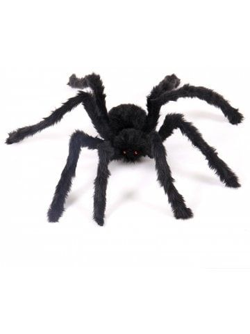 40 x Black Plastic Spiders Halloween Decorations Spooky Scary Horror Insects Toy