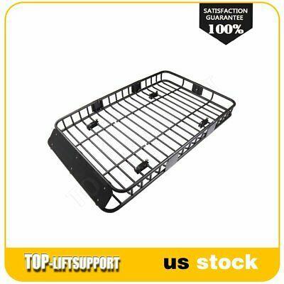 Sponsored Ebay 64 Universal Black Roof Rack Extension Luggage Hold Carrier Basket Us Fast Ship Roof Rack Ebay Metal Bar