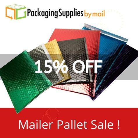 """250 Silver Metallic Bubble Mailers 7/"""" x 6.75/"""" Padded Mailing Envelopes"""