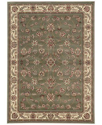 Closeout Pesaro Isfahan Sage 7 9 X 11 Area Rug Pesaro Area Rugs Rugs 7 x 11 area rugs