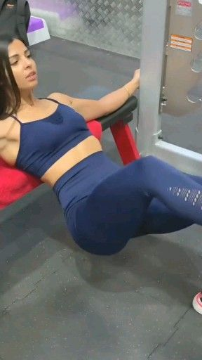 Glute gym workout routine for women #glutes #exercisefitness #fitness #exercise