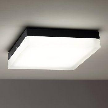 Shown In Black Finish Led Light Design Flush Ceiling Fans Flushmount Ceiling Lights