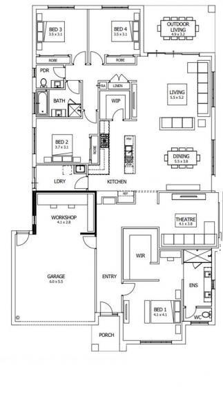 Barcelona Boutique Homes House Floor Plans House Plans Boutique Homes