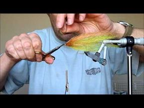 Photo of 10 Minute Tye: Flash Fibre Baitfish – Pike Fly