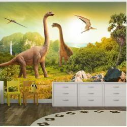 Pin on Brayden's dinosaur room