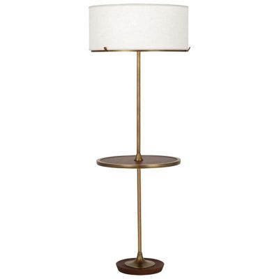 Buy The Edwin Tray Table Floor Lamp By Robert Abbey And The Best