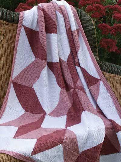 Patchwork Squares Afghan Crafts Blankets Afghans Pinterest