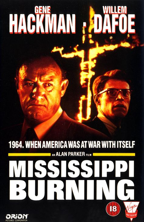 Mississippi Burning Old Movie Posters Really Good Movies Cinema Posters