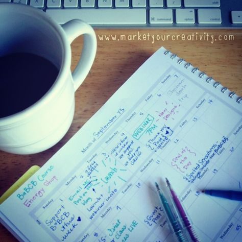 How Keeping an Editorial Calendar has Worked for Me | Marketing Creativity