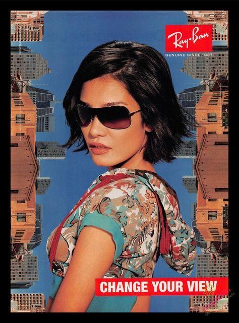 2006 Print Ad~Ray Ban Sunglasses~Change Your