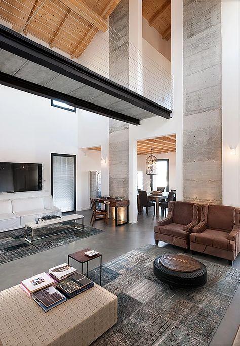 Brando Concept Stalla Stable Interior Design Arredamento Cemento A