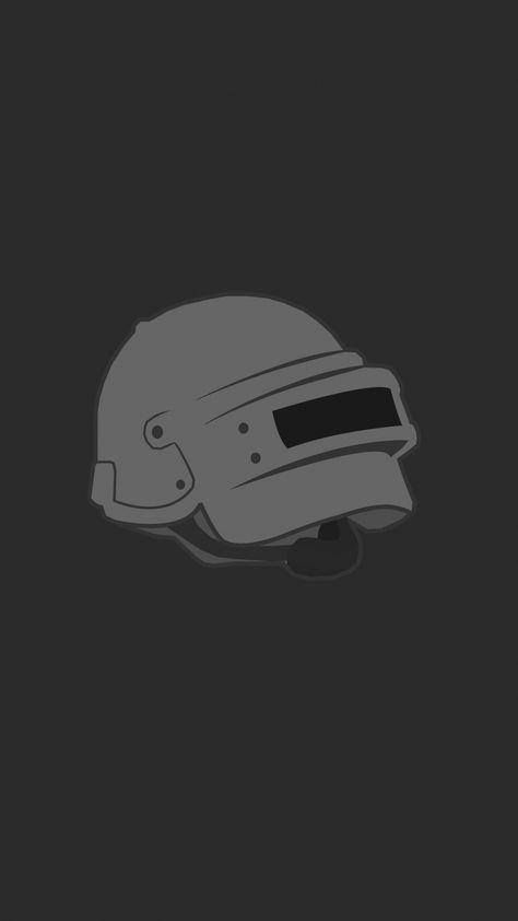 Pubg Helmet Logo Minimal Wallpaper Minimal Wallpaper Hd Phone Wallpapers Game Wallpaper Iphone