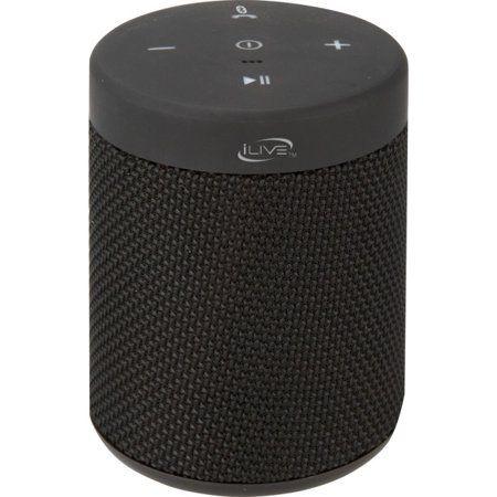 Ilive Waterproof Fabric Wireless Speaker Isbw108 Multiple Colors