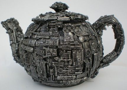 Teapot for when you're drinking Ear Grey, Hot, watching Star Trek, and The Borg are about to attack!