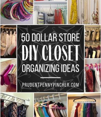 Organize Your Closet For Less With These Dollar Store Closet Organization Ideas From Organizing You In 2020 With Images Closet Organization Dollar Stores Bedroom Organization Diy