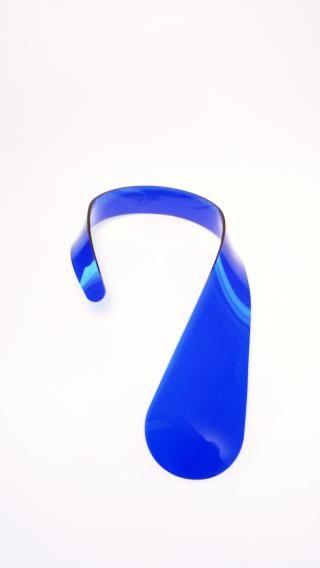 izumi - gioielli da resti di produzioni industriali Collana goccia blu