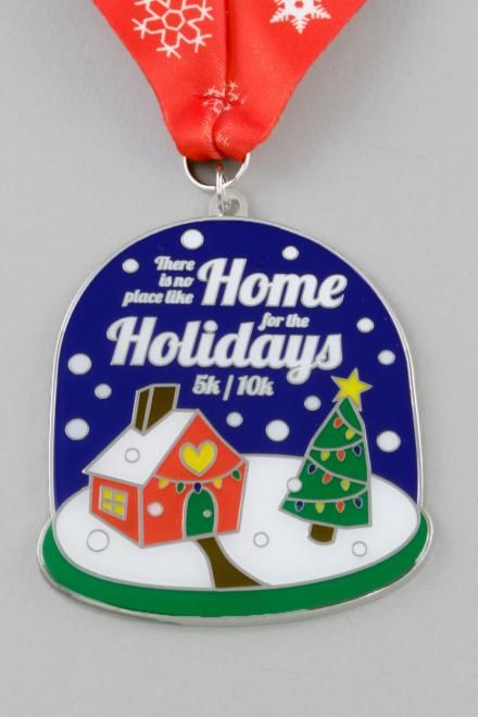 Christmas Running Medals.Holiday Seasonal Race Medals Race Bling Holiday