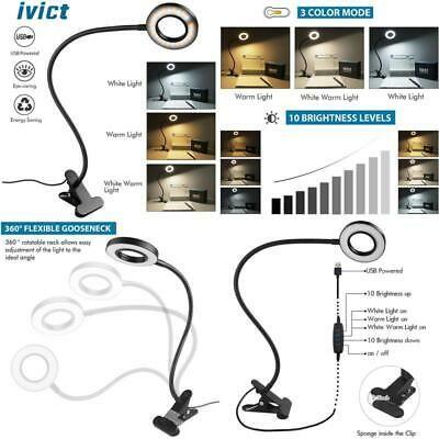 Sponsored Link Clip On Light Reading Lights Ivict 24 Led Usb