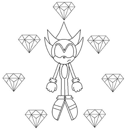 Gold Sonic Coloring Pages Coloring Pages Disney Coloring Pages Coloring For Kids