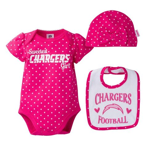 NFL Infants San Diego Chargers Football Bodysuit Brown