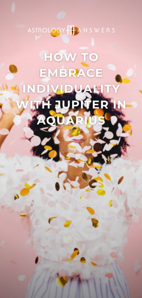 Lucky planet Jupiter moves into Aquarius today to bring a new focus on change and innovation. ✨ Are you ready for some juicy #JupiterinAquarius #horoscopes? #jupiter #aquarius #astrology #decemberastrology