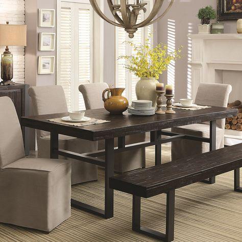 Coaster Furniture Keller Rectangle, Coaster Furniture Dining Sets