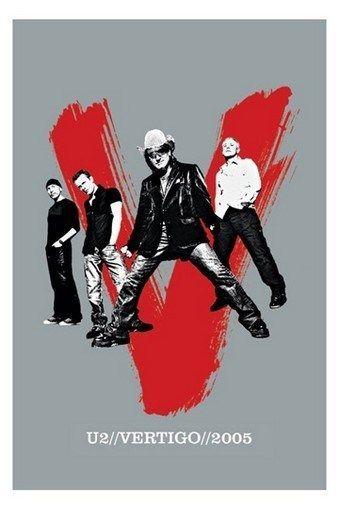 U2 POSTER - VERTIGO - RARE NEW HOT 24X36